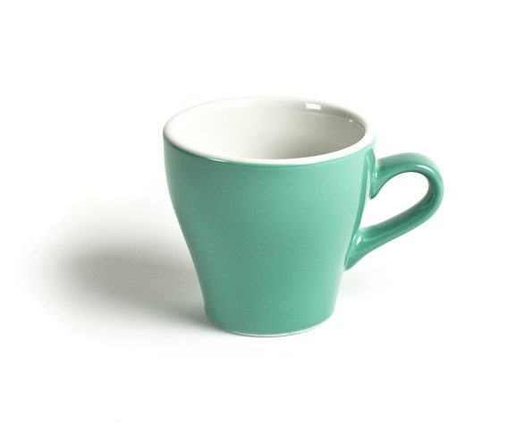 ACME 177ml Green Tulip Flat White Cups