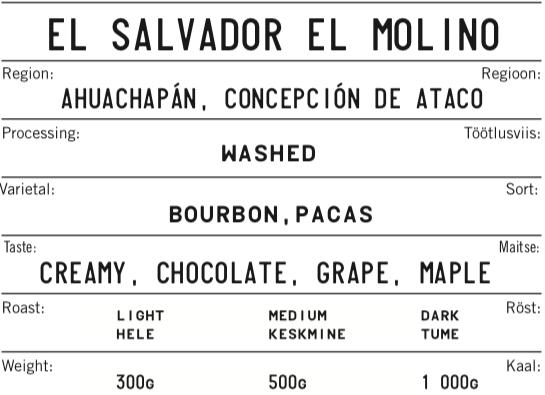 EL SALVADOR EL MOLINO