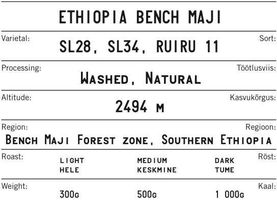 Ethiopia Bench Maji