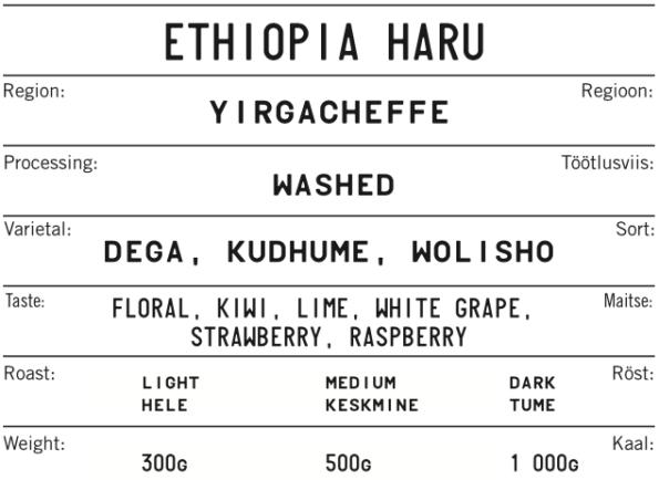 ETHIOPIA HARU